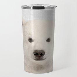 Polar Bear - Colorful Travel Mug