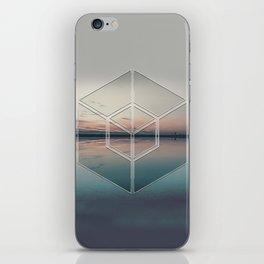 Tranquil Landscape Geometry iPhone Skin