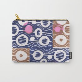 Hot pink dots Carry-All Pouch