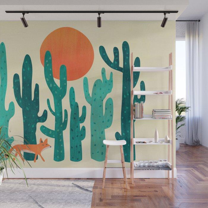 Desert fox Wall Mural