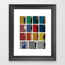 Doctor Who 2 Framed Art Print
