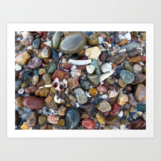 Ocean Treasure Art Print