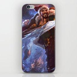 Santa Draven League Of Legends iPhone Skin