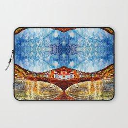 landskape-lake-fishing-oldtown Laptop Sleeve