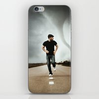 running iPhone & iPod Skins featuring Running by Jovana Rikalo