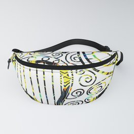 Shifting inside the Heart Fanny Pack