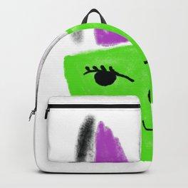 Greeny Kitty Backpack