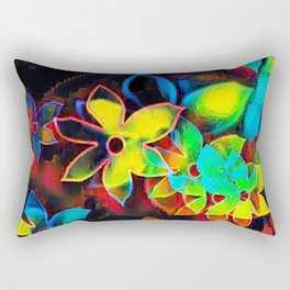 Tropical Petals Rectangular Pillow