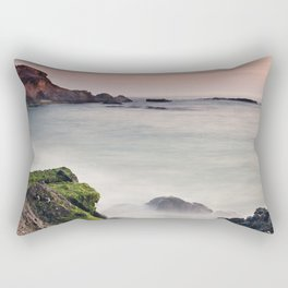 The Ocean Crack Rectangular Pillow