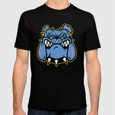 dogs  MEDIUM Black Mens Fitted Tee