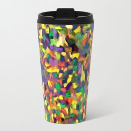 Multicolor Texture Travel Mug