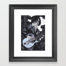 Jack White III Framed Art Print