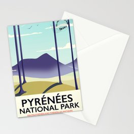 Pyrénées National Park Stationery Cards