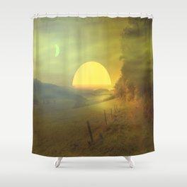 Landscape hike Shower Curtain