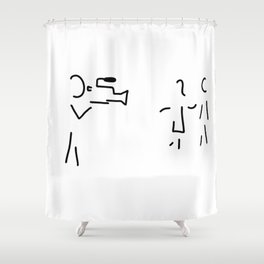 cameraman filmmaker Shower Curtain