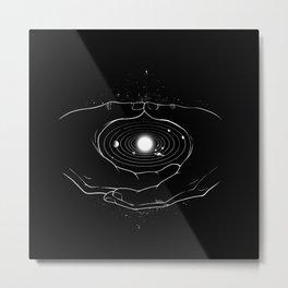 Mudra Cosmo Zen Meditation Metal Print