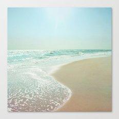 Good Morning Beautiful Sea Canvas Print