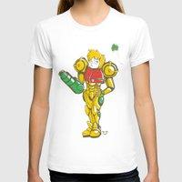 samus T-shirts featuring SAMUS ARAN by FoxBoy
