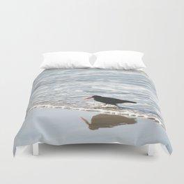 bird wading Duvet Cover