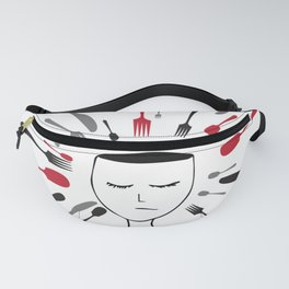 Don't be a victim of your own mind Fanny Pack