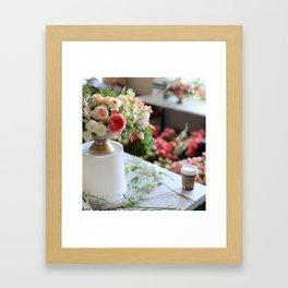 Flower Design 1 Framed Art Print
