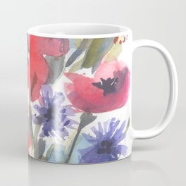 Big Poppy Field Coffee Mug