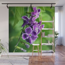 Transformation, Purple Duranta Photography Wall Mural