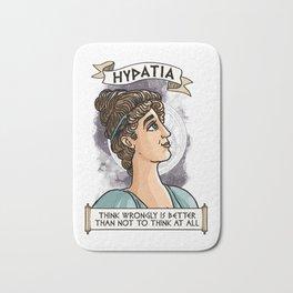 Hypatia of Alexandria Bath Mat