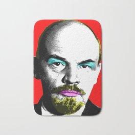 Ooh Mr Lenin - Red Bath Mat