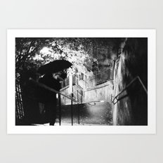 Edinburgh XXI. Art Print