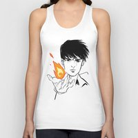 fullmetal Tank Tops featuring Flames  by IndyFalcon