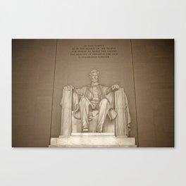 Lincoln Memorial :: Washington DC Canvas Print