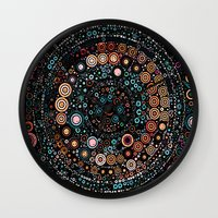 carousel Wall Clocks featuring :: Carousel :: by :: GaleStorm Artworks ::