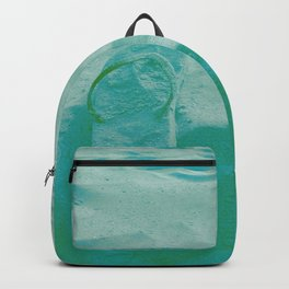 Thongs in the sand photo Backpack