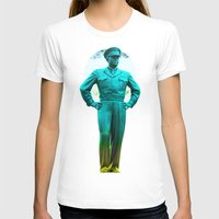 general T-shirts featuring general, Eisenhower by seb mcnulty