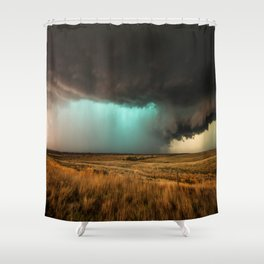 Jewel of the Plains - Storm in Texas Shower Curtain