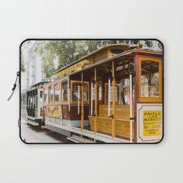 San Francisco Cable Car Laptop Sleeve