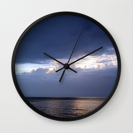 Calm after the storm Wall Clock