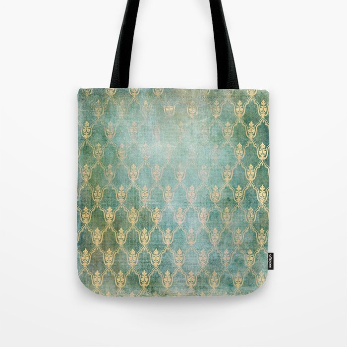 Damask Vintage Pattern 02 Tote Bag