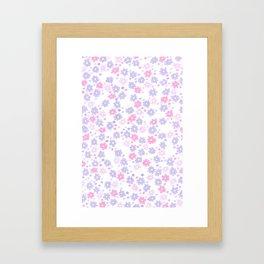 Flora (Lilac) Framed Art Print