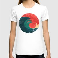 ocean T-shirts featuring The wild ocean by Picomodi