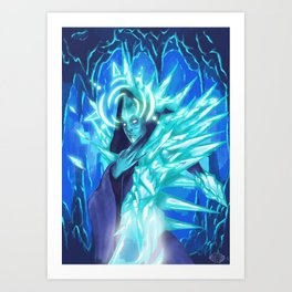 Ice Mage Art Print