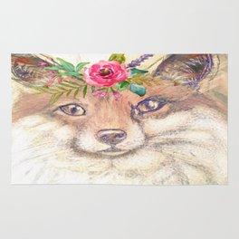 Forest Fox Rug