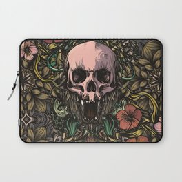 Skull in jungle Laptop Sleeve