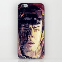 spock iPhone & iPod Skins featuring Spock  by margaw