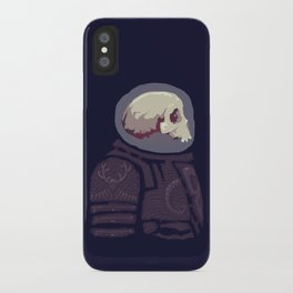 Spaceknight Skully iPhone Case