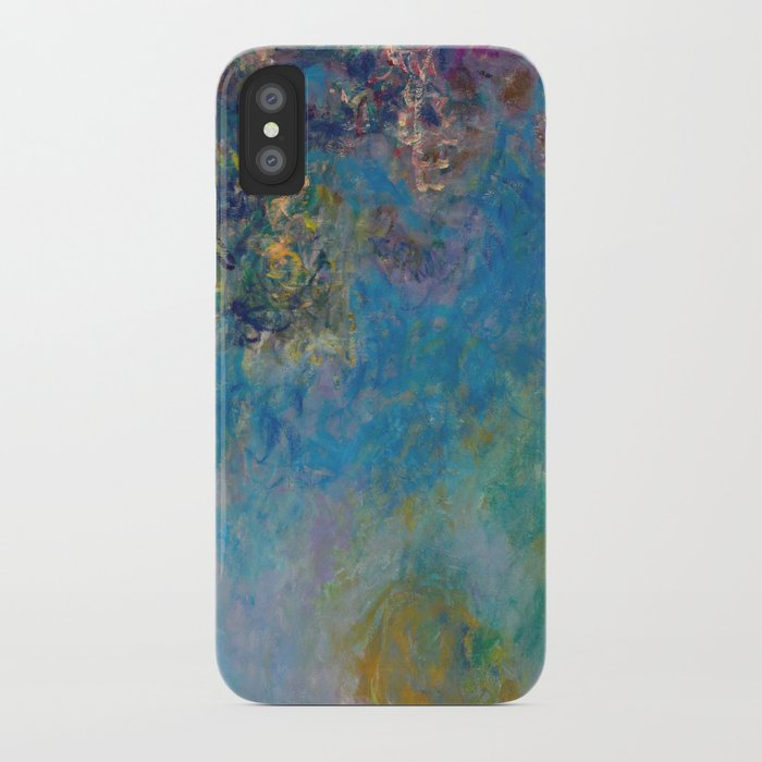 Wisteria By Claude Monet Iphone Case