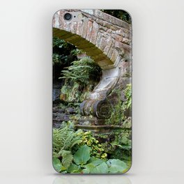 A Stone Arch Decorates the Garden iPhone Skin