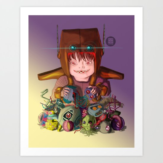 EL DESTRUCTOR Art Print