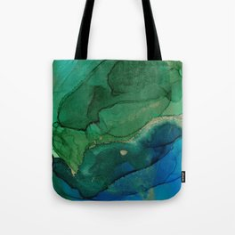 Ocean gold Tote Bag